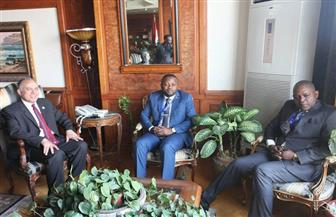 وزير الري يستقبل نظيره الكونغولي للتباحث حول تنفيذ أنشطة التعاون المشترك