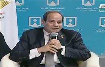 السيسي: تحية واجبة  لكل المصريين ولأهلنا في سيناء لما يتحملونه من أوضاع وتضحيات