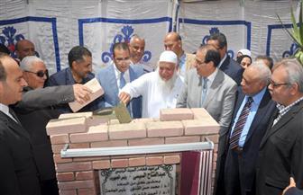 وضع حجر الأساس لمبنى زراعة الكبد في جامعة المنصورة