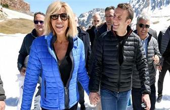 """زوجة الرئيس الفرنسي تشارك في حلقة من """"غرفة تغيير الملابس"""""""