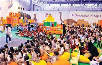 ورش تدريبية بمهرجان الشارقة  لتعريف الأطفال بعناصر القصة الإبداعية