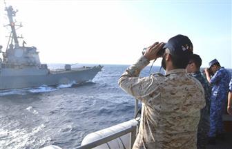 """اختتام فعاليات التدريب البحري المشترك """"تحية النسر 2017 """" بمشاركة القوات المصرية والأمريكية"""