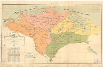 خريطة قديمة تؤكد وصول النيل إلى سيناء.. والدلتا كان لها 7 أفرع