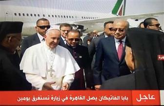 رئيس الوزراء يصل المطار لاستقبال بابا الفاتيكان