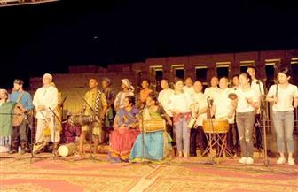 فرقة الأقصر للفنون الشعبية تُشارك في مهرجان الطبول الثقافي الدولي| صور