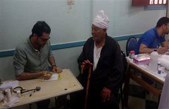 """الكشف على 300 مريض بحملة""""معا لإنقاذ مريض بإحدى قرى مركز شربين"""