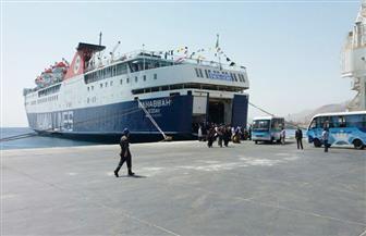 وصول وسفر 12 ألفًا و434 راكبًا بموانئ البحر الأحمر وسفاجا والغردقة ونويبع