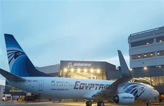 """استمرار احتفالات """"مصر للطيران"""" مع المسافرين في أول أيام العام الجديد"""