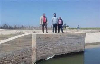 تشكيل لجنة لمتابعة منسوب مياه ترعة النصر بمطروح