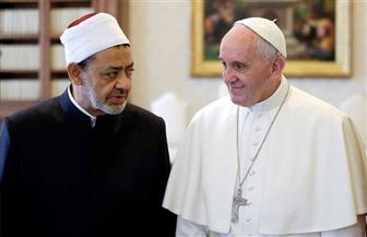 """الصحافة الإماراتية: الطيب وفرنسيس يعلنان """"الأخوة الإنسانية"""" من أبو ظبي  صور"""