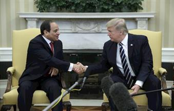 ترامب: تعاون عسكري مع مصر خاصة في مجالات حاملات الطائرات