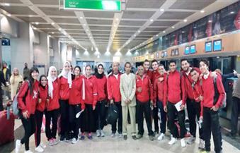 بعثة الكاراتية تغادر إلى تونس للمشاركة في المعسكر التدريبي