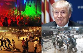 الآذان والموسيقى في تونس.. راتب ترامب.. إقالات تركيا.. مشاجرة بالأسلحة بعين شمس.. وفيات كولومبيا بنشرة السادسة