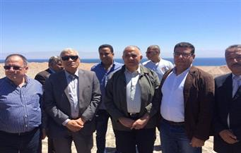 """1.3 مليار جنيه لحماية جنوب سيناء من السيول حتى 2019.. ووزير الري بالمحافظة لوضع حجر أساس """"مرحلة جديدة"""""""