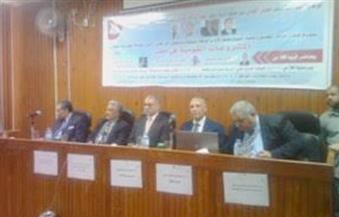 """نائب رئيس جامعة المنوفية بندوة """"المشروعات القومية في مصر"""" :المشروعات القومية نواة للتنمية والنهضة"""