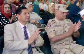 """بالصور.. وكيل وزارة التربية التعليم بكفر الشيخ  يدشن مبادرة """"فى حب مصر"""" بمدارس المحافظة"""