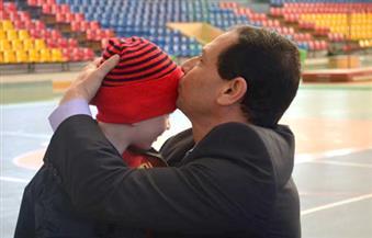 """بالصور.. رئيس جامعة بورسعيد يشارك بالمهرجان السنوي لـ""""يوم اليتيم"""""""