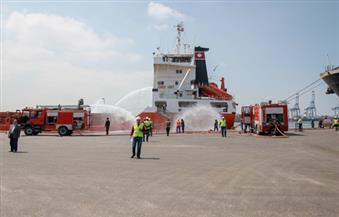 ميناء دمياط يستقبل 13 سفينة متنوعة