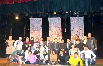 بالصور.. افتتاح مبادرة تحويل المناهج الدراسية إلى عروض مسرحية في جامعة بورسعيد