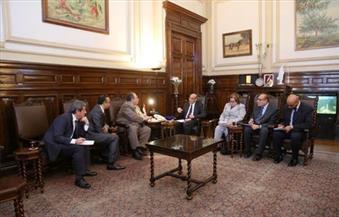 """""""البنا"""" يلتقي سفيري رومانيا وقبرص لبحث سبل التعاون في قطاع الزراعة"""
