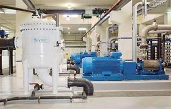 مياه مطروح: إنتاج 100 ألف م3 يوميا من محطات تحلية مياه البحر المنشأة حديثا