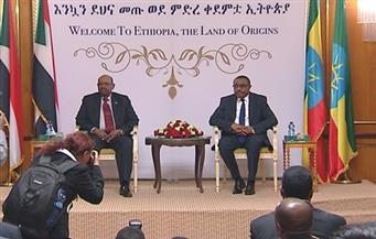 """حرارة استقبال البشير في إثيوبيا بخرت التنسيق مع مصر..""""النهضة"""" يضخ للخرطوم 500 جيجاوات و""""الأمن"""" عنوان الزيارة"""