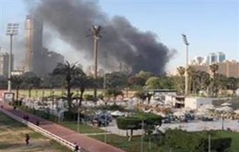 النيابة تستمع لأقوال مدير أمن نادي الجزيرة..وكابتن الصالة: الحريق نشب فجأة