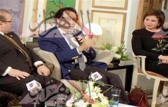 يناقش قضية الإبداع.. صالون حسن راتب الثقافي في ضيافة فاروق حسني بمرسمه على المحور غدًا