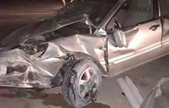 إصابة طالبين بكلية الشرطة في حادث تصادم  أعلى الطريق الدائري