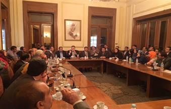 رئيس حزب الوفد يلتقي لجان الفيوم والإسماعيلية