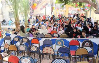 بالصور.. مدن دمياط تحتفل بيوم اليتيم