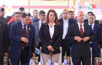 غادة والي تحتفل بيوم اليتيم في مؤسسات ذوي الإعاقة الذهنية بالمرج بمشاركة نواب البرلمان