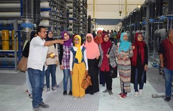 بالصور.. البحر الأحمر تنظم زيارة ميدانية لطلبة المدارس لأكبر محطة تحلية مياه فى الشرق الأوسط بالغردقة