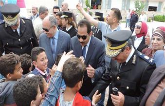 بالصور.. مدير أمن الاسكندرية يشارك فى حفل للأطفال الأيتام بنادى الشرطة بالنزهة