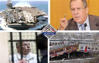 """الحكم فى قضية الرشوة.. مقتل جندي أمريكي.. تصادم قطارين.. إدانة مجزرة """"خان شيخون"""" بنشرة السادسة"""