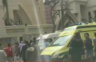 """انهيار منزل مجاور لكنيسة """"مار مرقس"""" بالإسكندرية"""