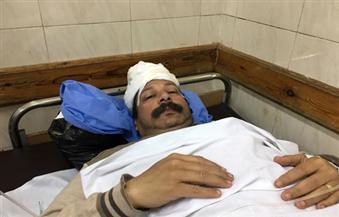 وصول 10 مصابين في تفجير كنيسة مار جرجس لمستشفي معهد ناصر بينهم 2 في حاله حرجة