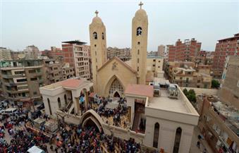 """"""" مار جرجس"""" بطنطا تقيم قداس ذكرى الأربعين لشهداء تفجير الكنيسة"""