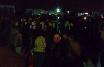 أهالي البدرشين يقطعون الطريق احتجاجًا على اختطاف عروس قبل زفافها بأسبوع