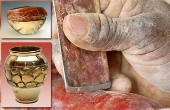 """دورات تعليمية  للراغبين في تعلم صناعة """"التحف اليدوية"""" في منشأة ناصر"""