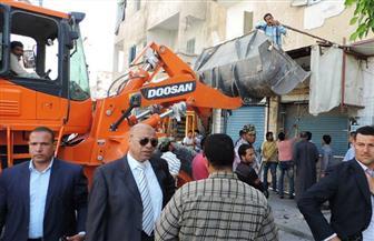 ضبط 12 قضية تموينية وتحرير 56 محضر إشغال طريق في حملة أمنية مكبرة بمطروح|صور