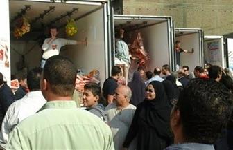 إعدام 15 كيلو لحومًا فاسدة في حملة على سيارات بيع الأغذية في ميدان السيدة عائشة