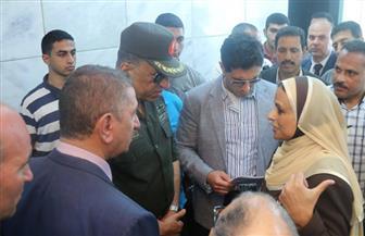 محافظ كفر الشيخ واللواء حمدي بدين يتفقدان مستشفى برج البرلس   صور