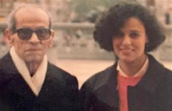 قلوبنا مع أم كلثوم نجيب محفوظ.. في فضفضة إنسانية مع ابنة الأديب: أولاد حارتنا ليست معصية   صور