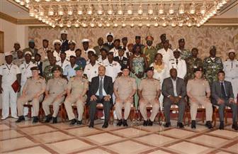 القوات المسلحة تحتفل بتخرج 10 دورات تدريبية لكوادر الدارسين الأفارقة من 33 دولة| صور
