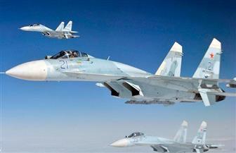 """تحطم طائرة """"سوخوي 27"""" تابعة لسلاح الجو الأوكراني أثناء تدريب"""