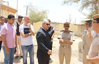 مدير أمن أسوان يتفقد عددًا من الأكمنة للاطمئنان على سير الحالة الأمنية | صور