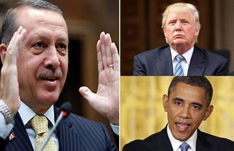 """أردوغان: """"رجال أوباما"""" يؤثرون في قرارات ترامب بشأن سوريا والعراق"""
