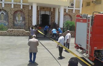 محاكاة لحادث حريق بالوحدة المحلية لمدينة القصير بالبحر الأحمر