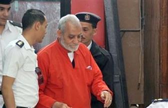 """تأجيل محاكمة بديع و738 آخرين في """"فض اعتصام رابعة"""" لجلسة 7 أكتوبر"""
